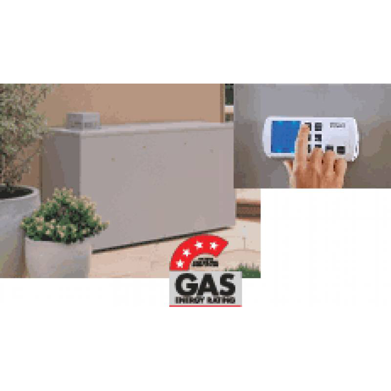 Bonaire mb4 25e 25kw external ducted gas heater airwaresales for Heating options for homes without gas